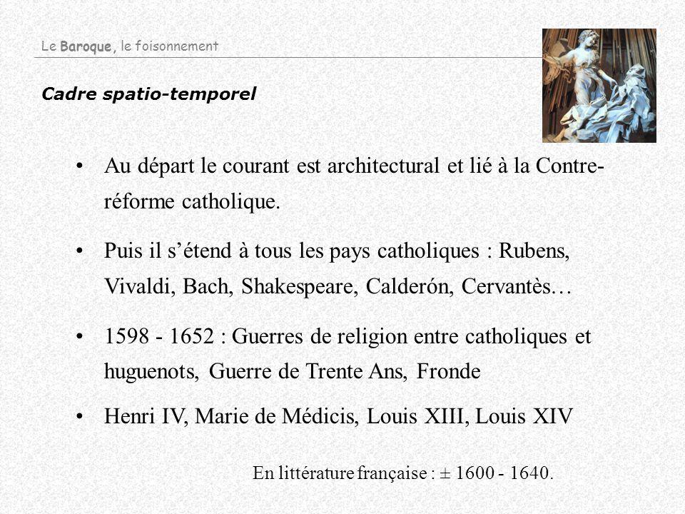 Henri IV, Marie de Médicis, Louis XIII, Louis XIV