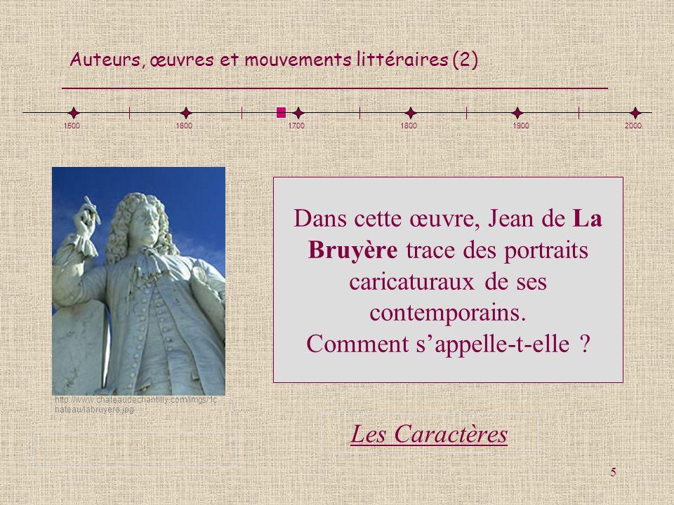 1500 1600. 1700. 1800. 1900. 2000. http://www.chateaudechantilly.com/imgs/1chateau/labruyere.jpg.