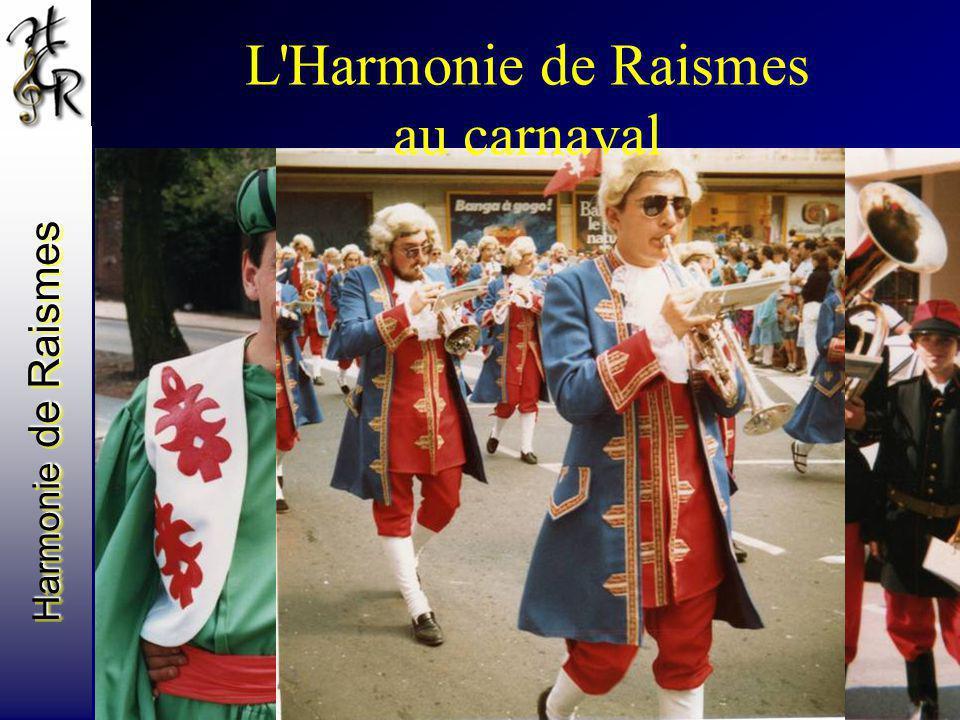 L Harmonie de Raismes au carnaval