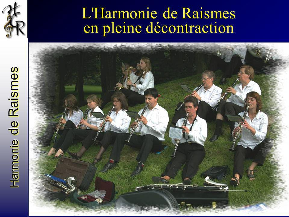 L Harmonie de Raismes en pleine décontraction