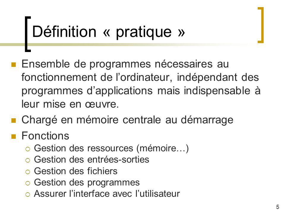 Définition « pratique »