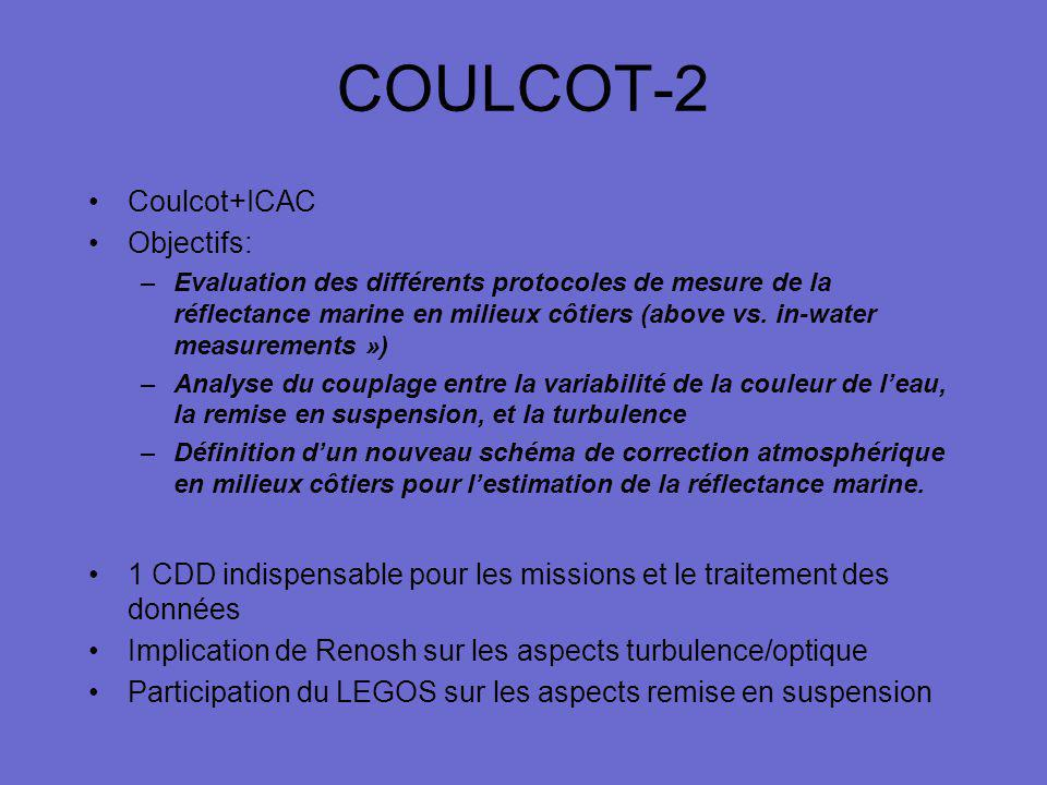 COULCOT-2 Coulcot+ICAC Objectifs: