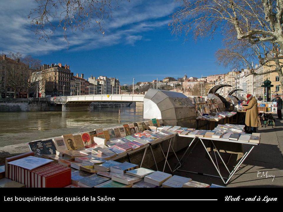 Week - end à Lyon Les bouquinistes des quais de la Saône