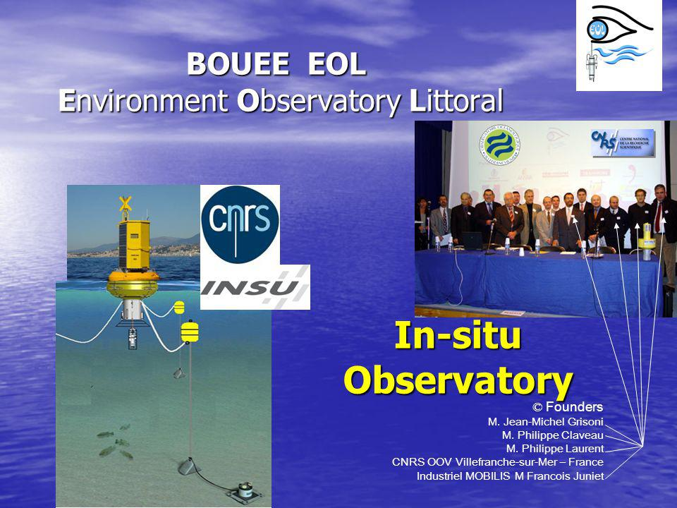 BOUEE EOL Environment Observatory Littoral