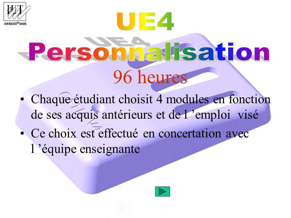 96 heures UE4 Personnalisation