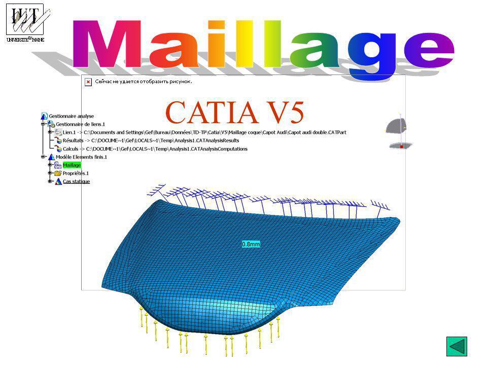 Maillage CATIA V5