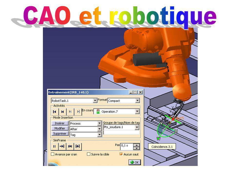 CAO et robotique