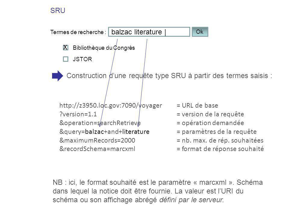 x SRU balzac literature |
