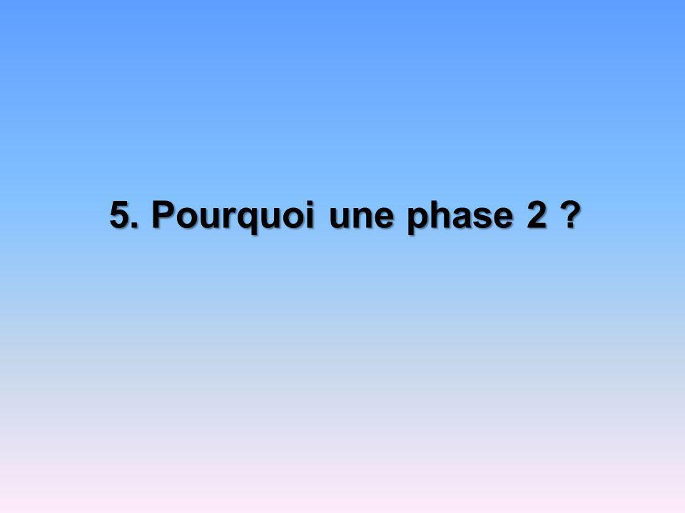 5. Pourquoi une phase 2