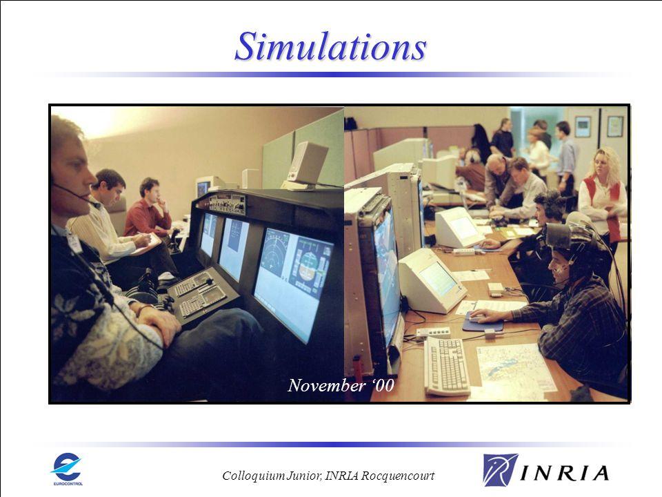 Simulations November '00