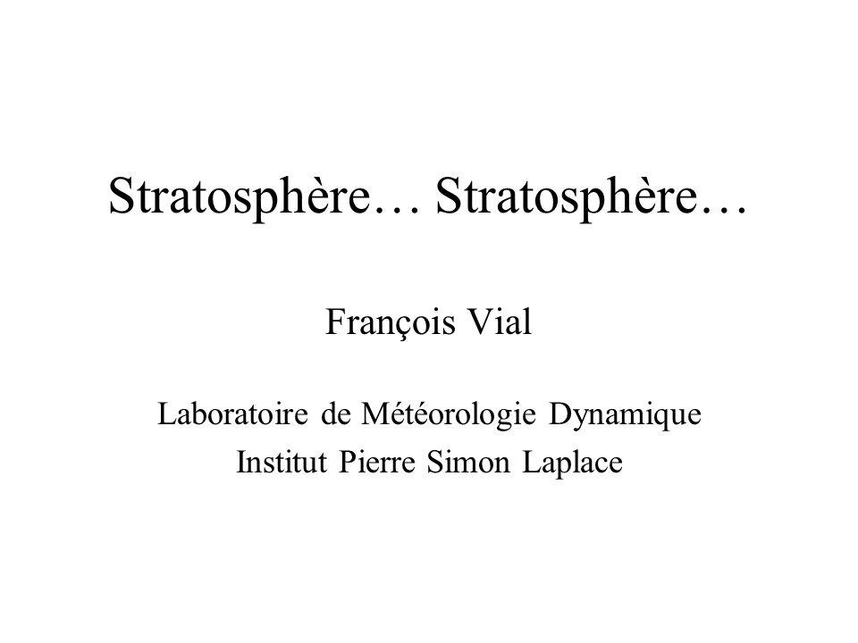 Stratosphère… Stratosphère…
