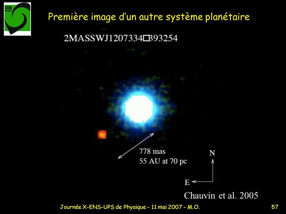 Première image d'un autre système planétaire