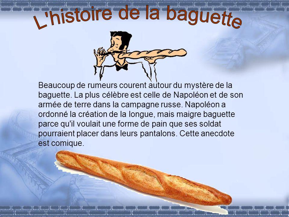 L histoire de la baguette