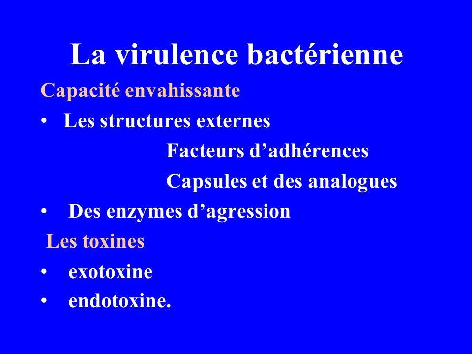 La virulence bactérienne