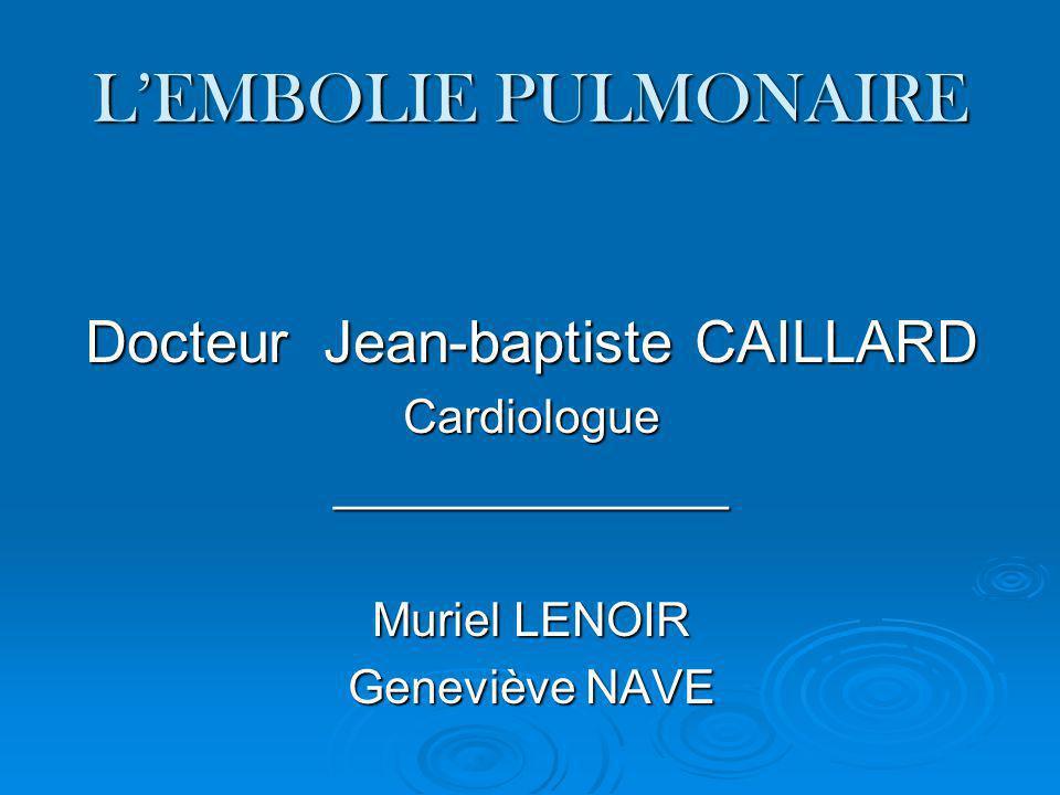 Docteur Jean-baptiste CAILLARD