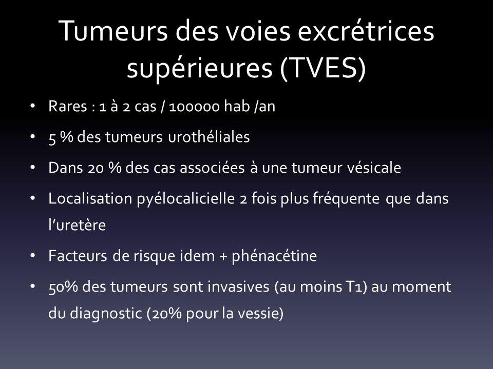 Tumeurs des voies excrétrices supérieures (TVES)