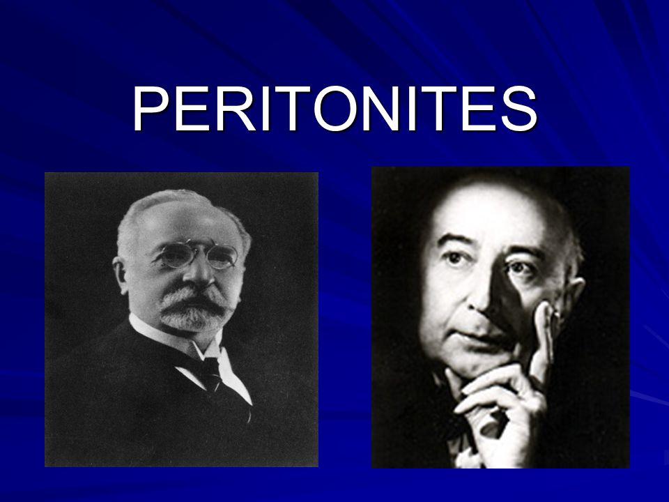 PERITONITES