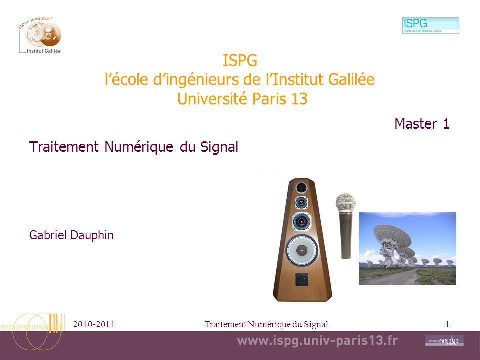 ISPG l'école d'ingénieurs de l'Institut Galilée Université Paris 13