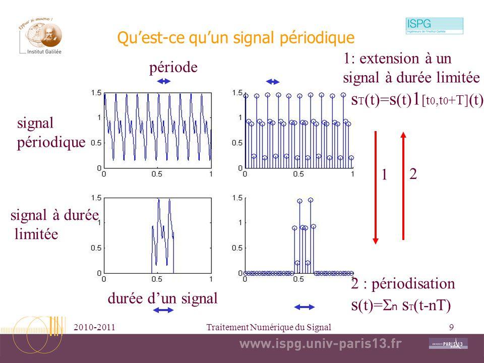 Qu'est-ce qu'un signal périodique
