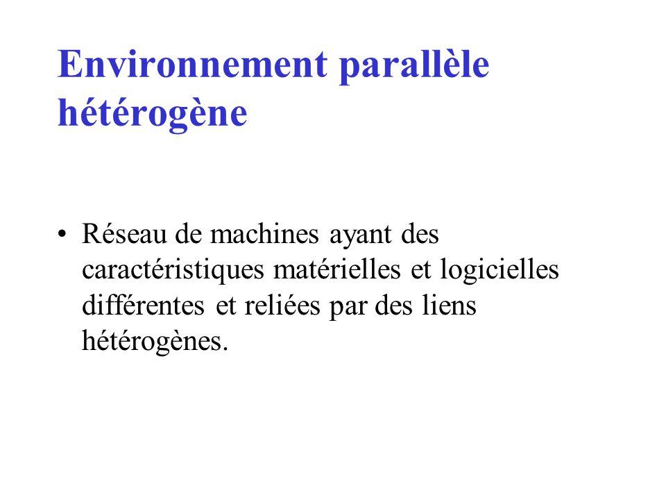 Environnement parallèle hétérogène