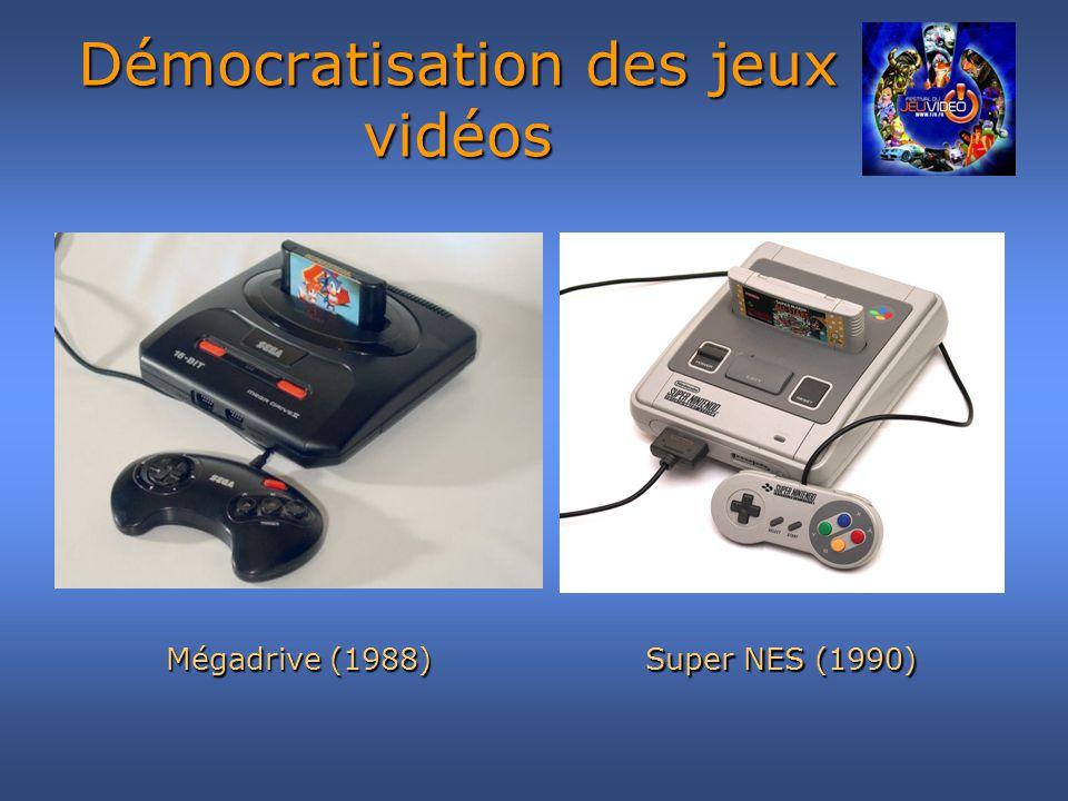 Démocratisation des jeux vidéos