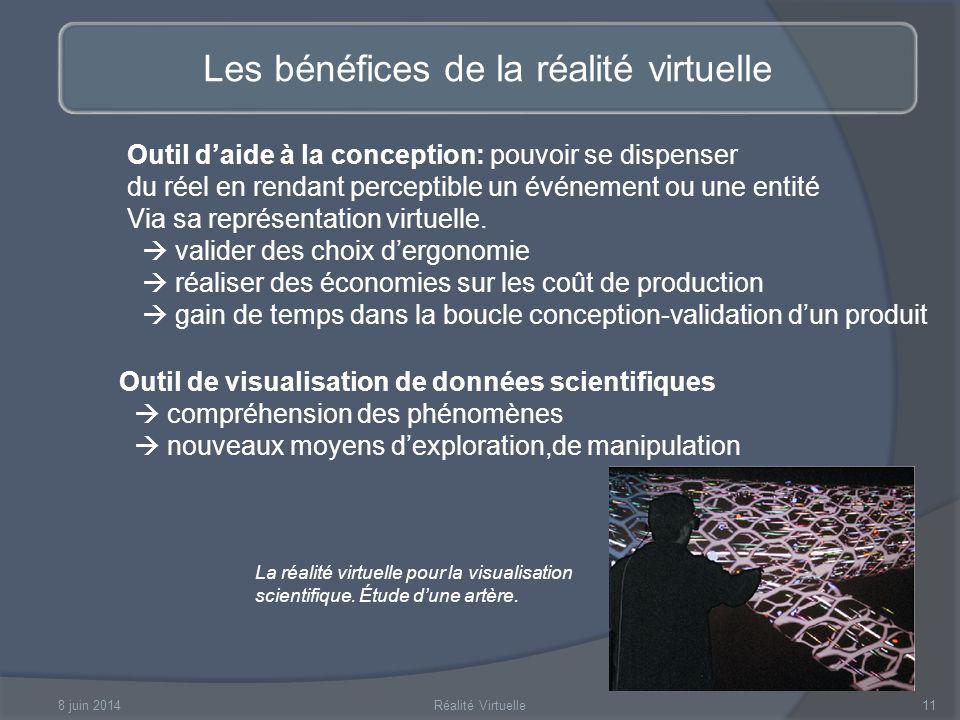 Les bénéfices de la réalité virtuelle