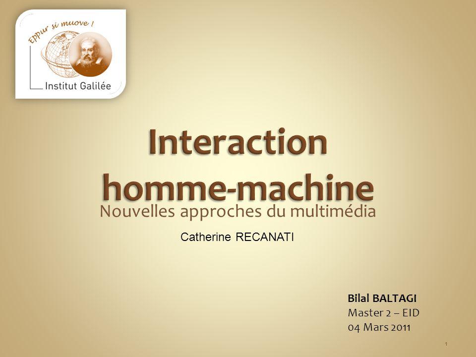 Interaction homme-machine