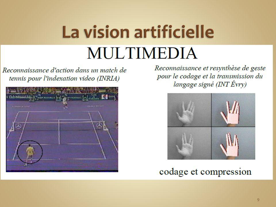 La vision artificielle