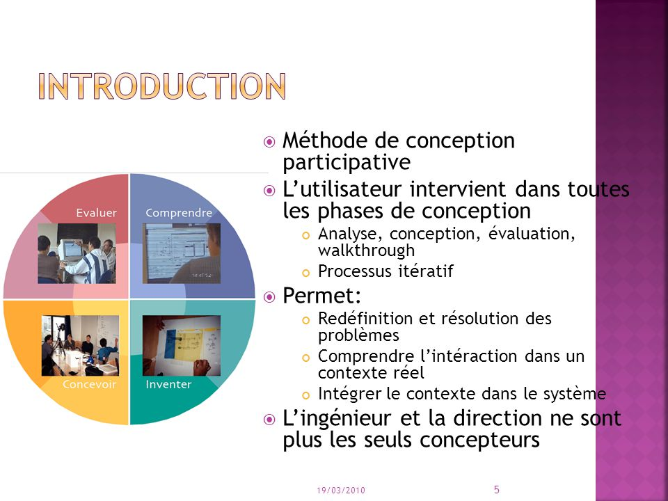 introduction Méthode de conception participative