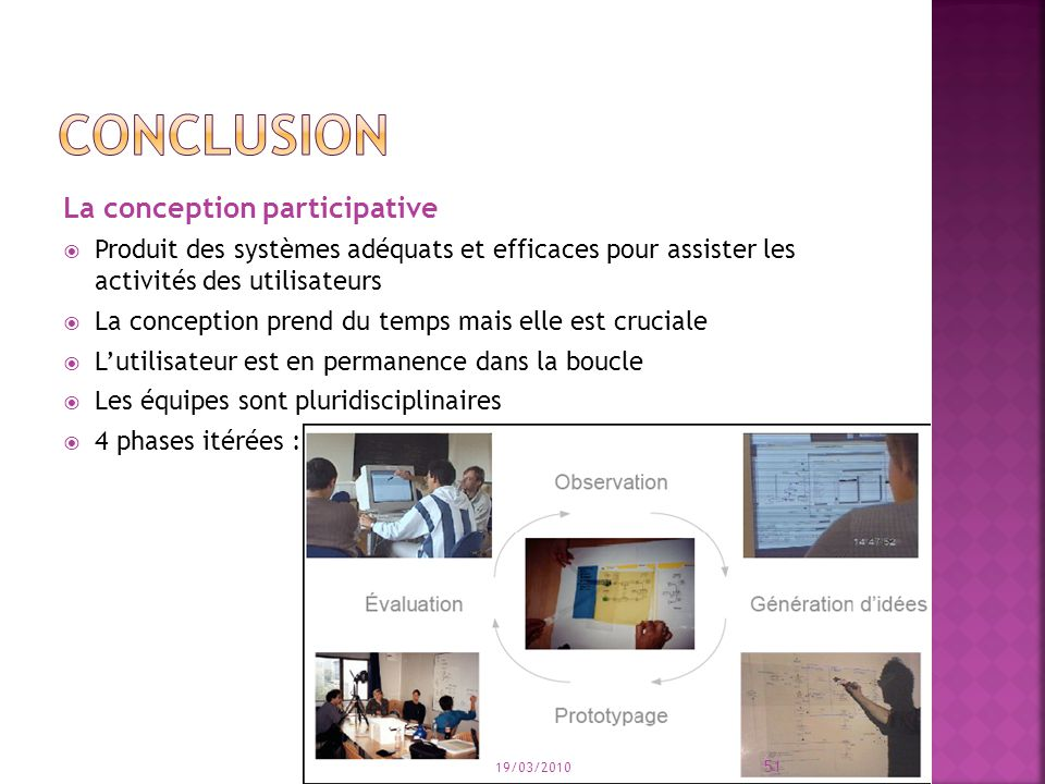 conclusion La conception participative