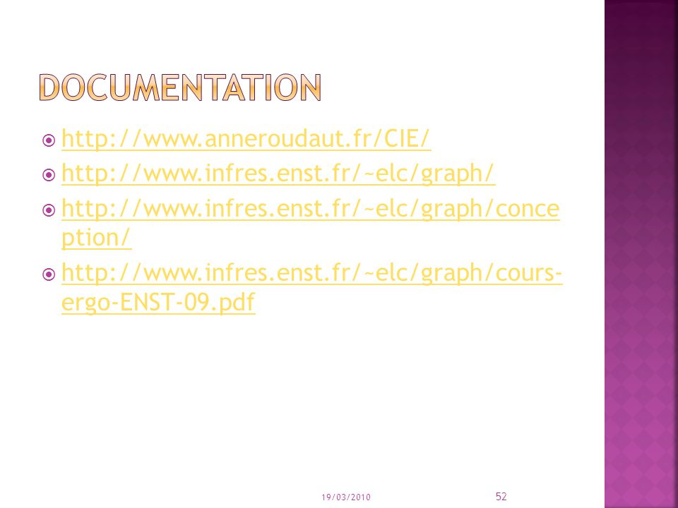 documentation http://www.anneroudaut.fr/CIE/