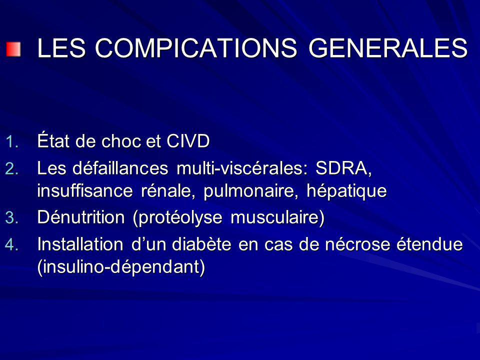 LES COMPICATIONS GENERALES