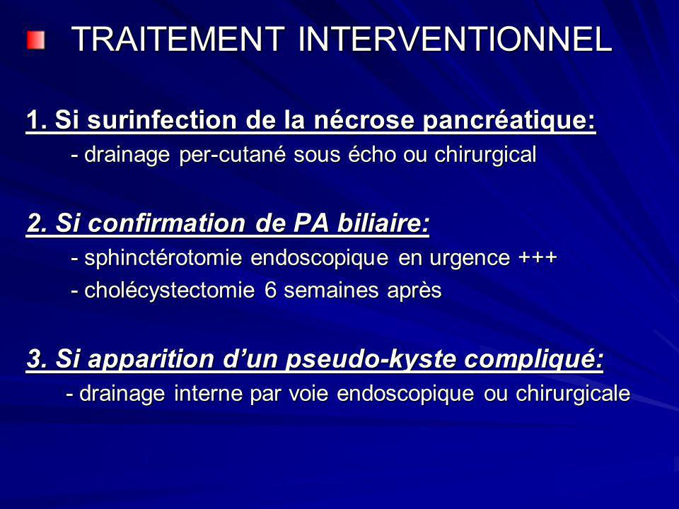 TRAITEMENT INTERVENTIONNEL