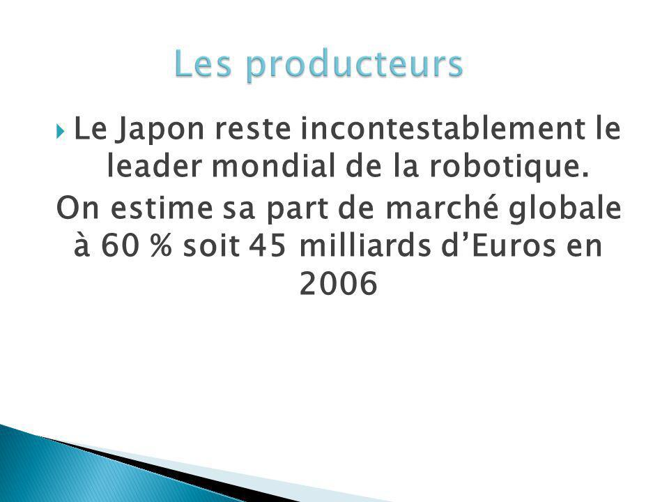 Le Japon reste incontestablement le leader mondial de la robotique.