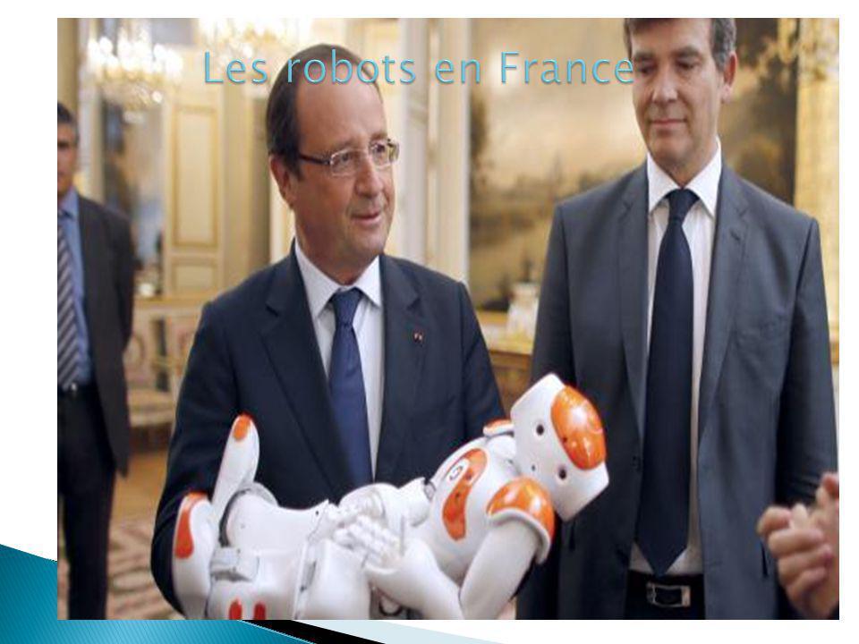 Les robots en France