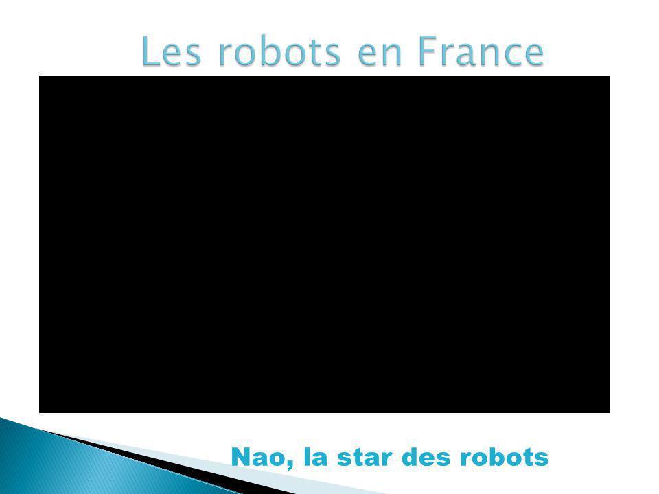 Les robots en France Nao, la star des robots