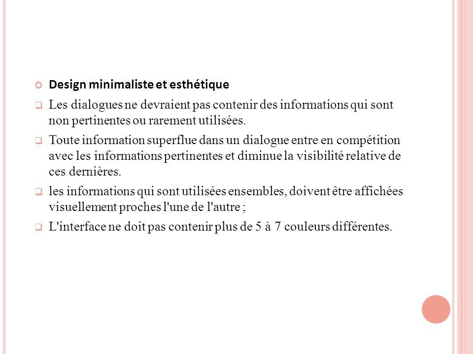 Design minimaliste et esthétique