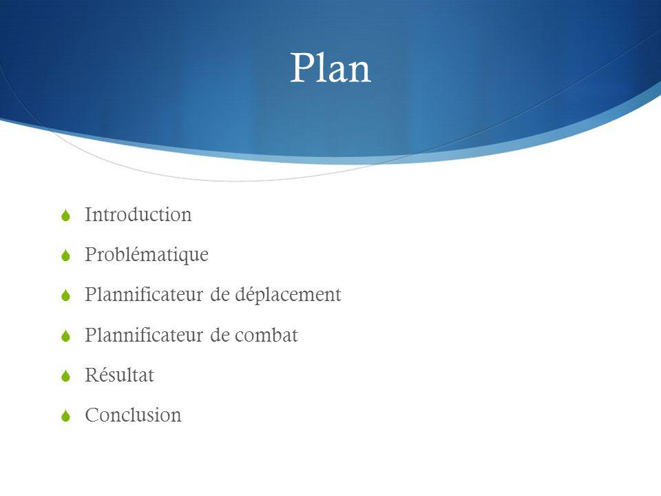 Plan Introduction Problématique Plannificateur de déplacement