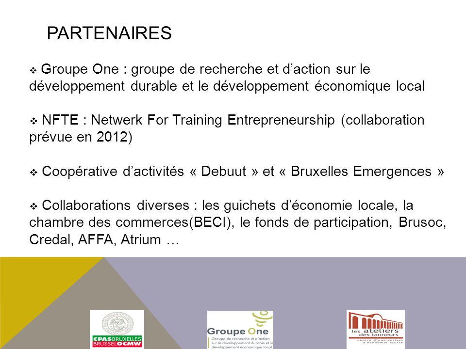 Partenaires Groupe One : groupe de recherche et d'action sur le développement durable et le développement économique local.