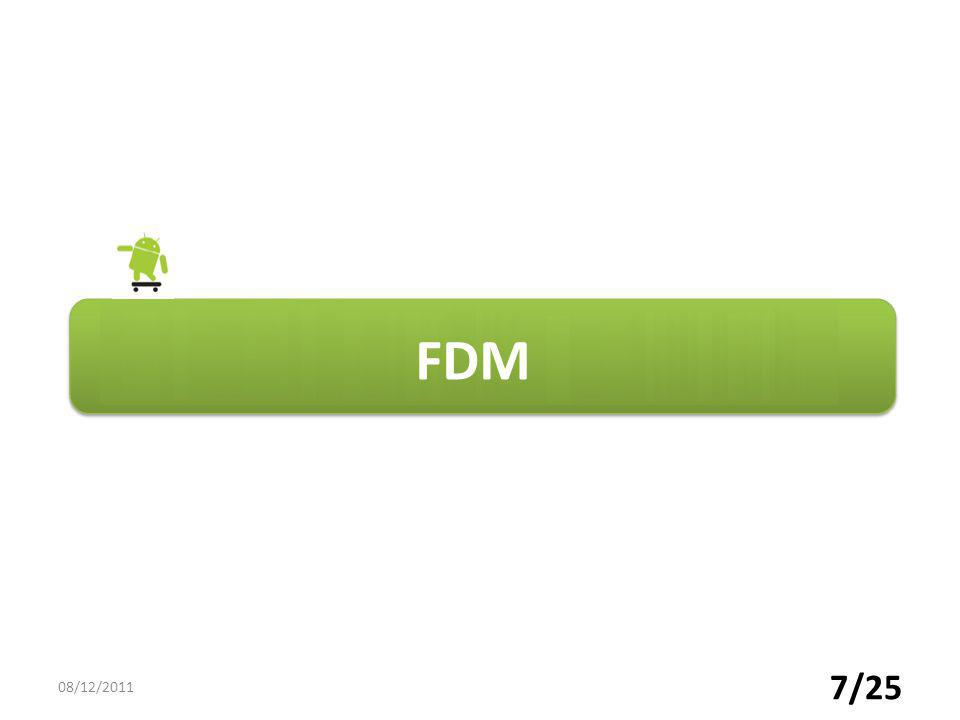 FDM 08/12/2011