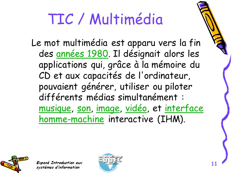 TIC / Multimédia