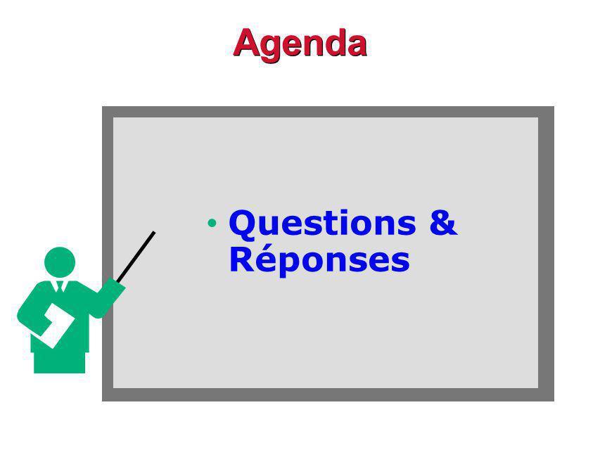 Agenda Questions & Réponses
