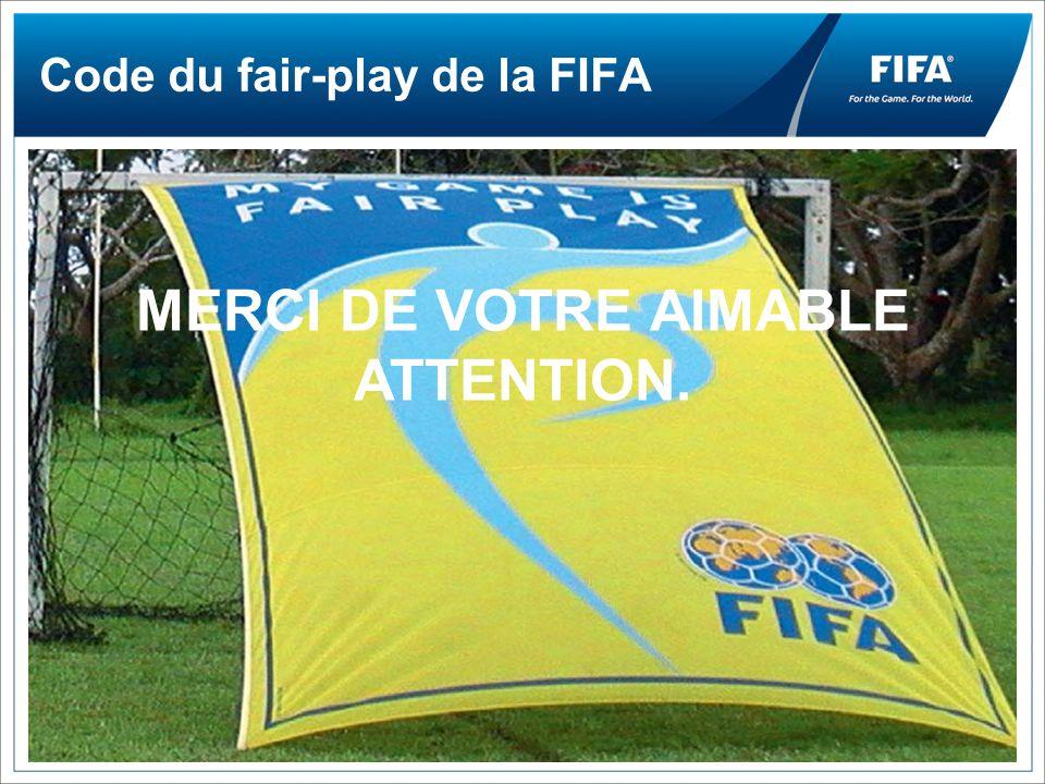 Code du fair-play de la FIFA