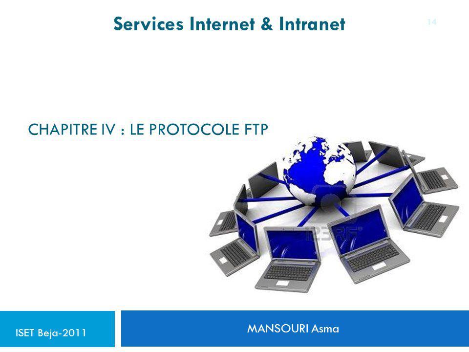 Chapitre IV : le protocole FTP