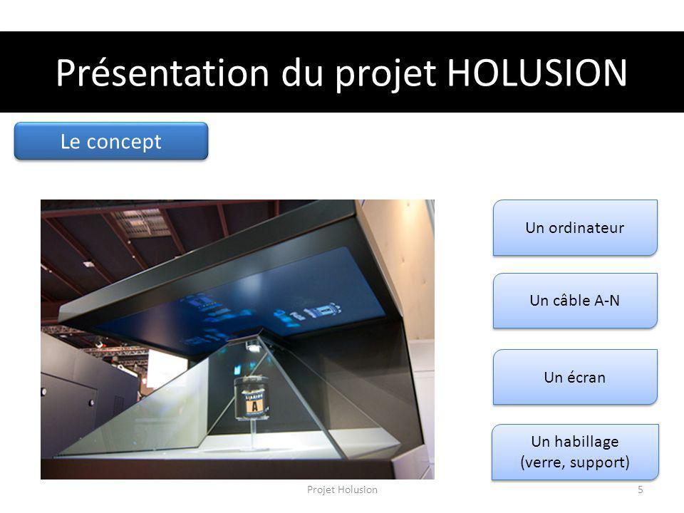 Présentation du projet HOLUSION