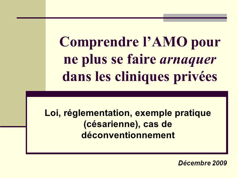 Comprendre l'AMO pour ne plus se faire arnaquer dans les cliniques privées