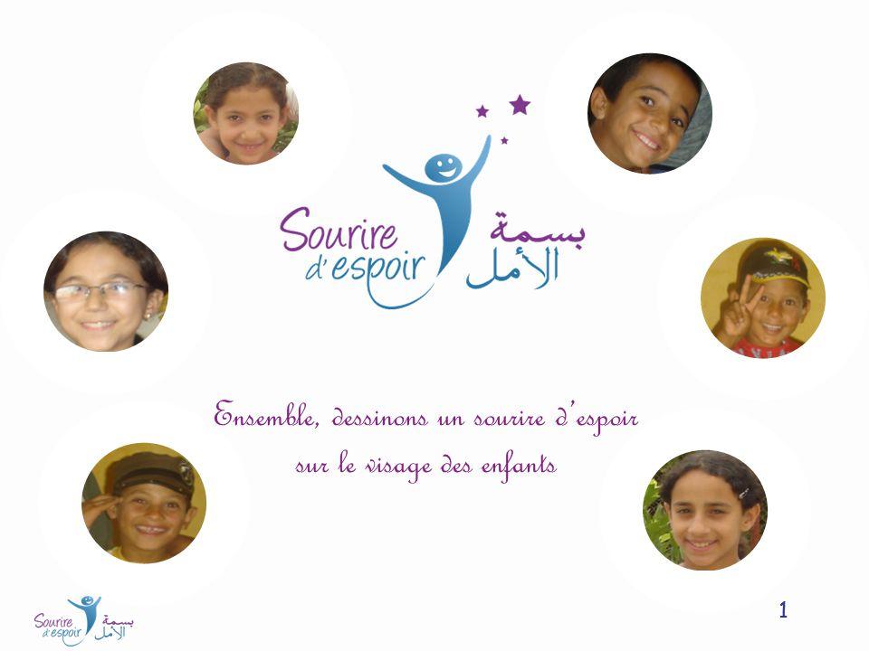 Ensemble, dessinons un sourire d'espoir sur le visage des enfants