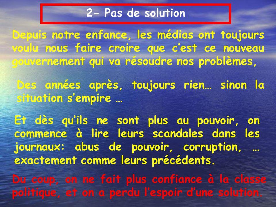 2- Pas de solution