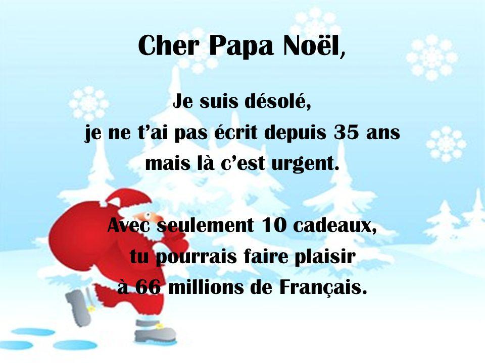 Cher Papa Noël,