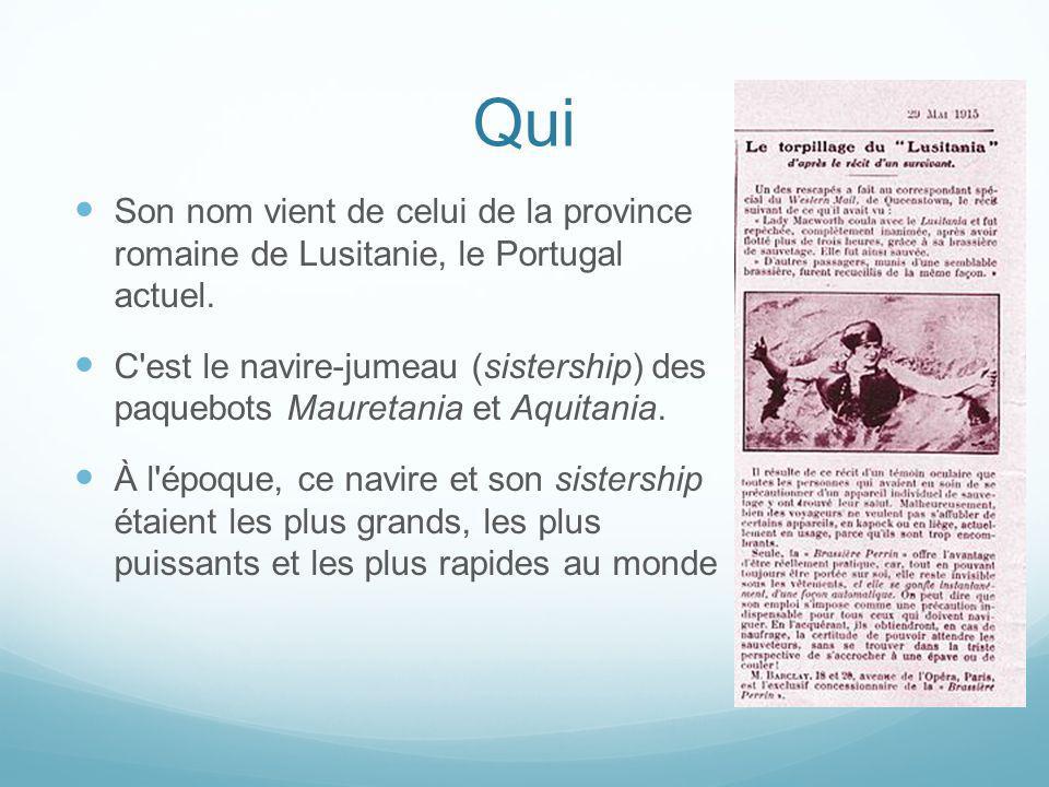 Qui Son nom vient de celui de la province romaine de Lusitanie, le Portugal actuel.